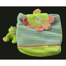 """Backpack with Frog KeyClip """"Love to Go!"""""""