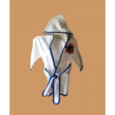 Hooded Terry Robes /Fish