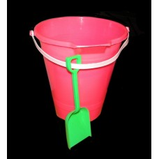 Beach Pails W/Spout & Shovel