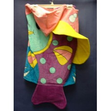 Fish Hooded Beach Towels
