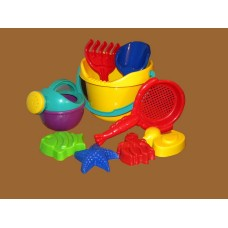 Beach Buckets with Shovel & Accessories 1