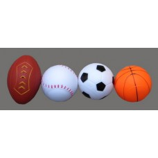 """Squirting Sports Balls"" Set Of 4"