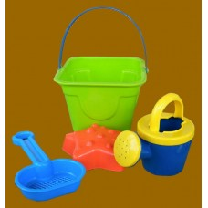 Beach Buckets W/Accessories 3