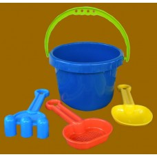 Beach Buckets W/Accessories 4