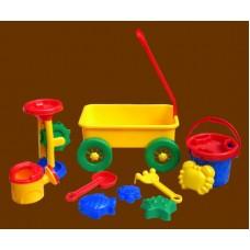 Sand Toys Sets / Wagon & Toys