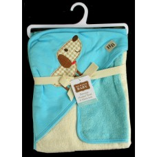 Hooded BathTowel & Washcloth /Dog