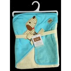 Hooded BathTowel & Washcloth /Dog