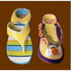 Flip-Flop Tealight Holders /Ceramic
