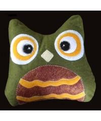 Owls / Dark Orange or Green