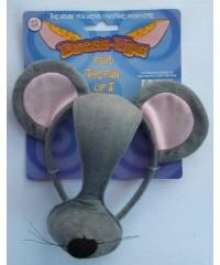 Dress-Up Mask /Gray Mouse