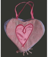 Fabric Purses /Heart