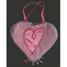 Fabric Purses /Heart