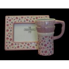 Frame & Mug Sets /Pink Floral