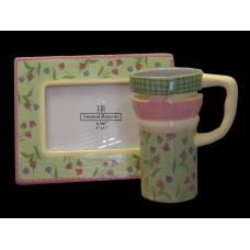 Frame & Mug Sets 2 /Pink & Sage