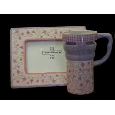 Frame & Mug Sets 3 /Pink & Lavender