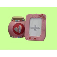 Frames & Storage Jars Sets