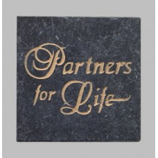 """Partners For Life"" Commemorative Stone Tiles"