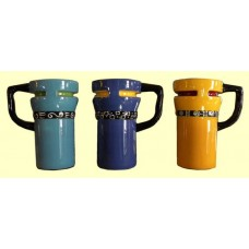 Travel Mugs /Teal, Blue or Yellow