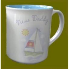 """""""New Daddy"""" Mugs"""