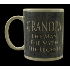"Grandpa Mug /""The Man The Myth The Legend"""