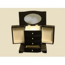 "Jewelry Boxes /Dark ""Espresso"" Wooden /Musical"
