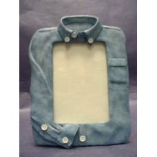 Denim-Shirt Picture Frames