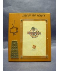 """King Of The Remote"" Picture Frames"