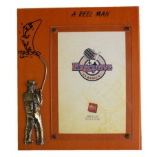 "Fishing Picture Frames: ""A Reel Man"""