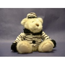 "Teddy Bears-""Zelda"" Zebra Stripe"