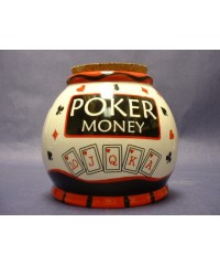 "Storage Jars /""Poker Money"""