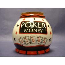 "Storage Jars /""Poker Money"""