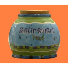 "Storage Jars /""Retirement Funds"""