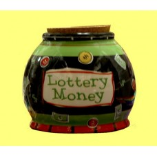 "Storage Jars /""Lottery Money"""