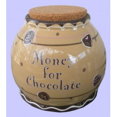 "Storage Jars /""Money For Chocolate"""