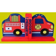 Fire Truck Bookends