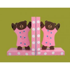 Little Bear Bookends /Pink or Blue