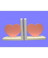 Hearts Bookends