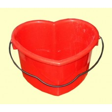 Heart Buckets /Red or White