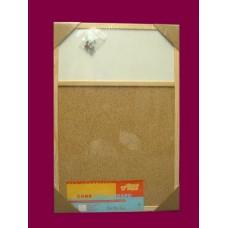Bulletin Boards /Natural W/Header