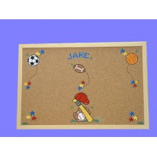 Bulletin Boards /Large Natural /Sports