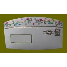 """Ceramic Envelopes: Large /""""Floral"""""""