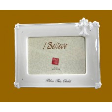 """Bless This Child"" /Ceramic Picture Frames"