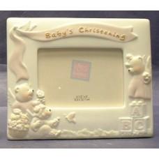 Baby's Christening Frames #1 /Pink