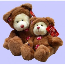 "Christmas Plush /""Gingerbread"" Bears"