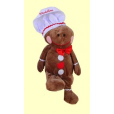 """Christmas Plush /""""Ginger Baker"""""""