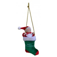 Baby's First Christmas / Musical baby In Stocking