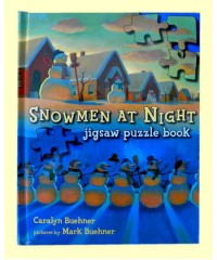 "Books /Jigsaw Puzzle Books /""Snowmen At Night"""