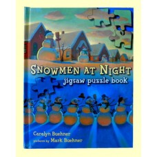 "Books /Jigsaw Puzzle Books /""Snowmen At Night"""