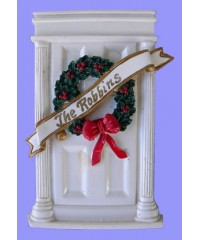 Personalized Christmas Ornaments /Doors