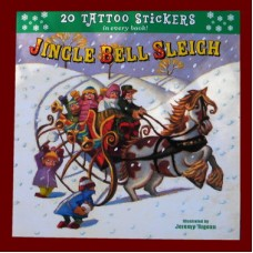"Books /""Jingle Bell Sleigh /Tattoo Stickers"""